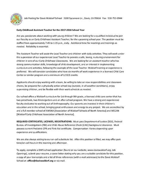 community announcement board bay area center  waldorf