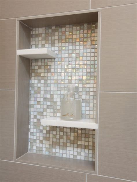 Badezimmer Fliesen Regal by Bathroom Niche With Soap Shelf Design Pictures Remodel