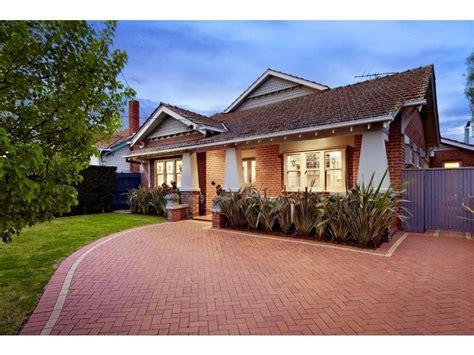 Brick Californian Bungalow House Exterior With Porch