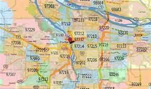 Zip Code Map Portland | afputra.com