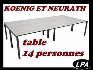 Table 14 Personnes : table de r union 14 personnes table de r union mobilier de bureau lpa ~ Teatrodelosmanantiales.com Idées de Décoration
