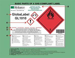 Ghs reliance label solutions inc for Ghs compliant