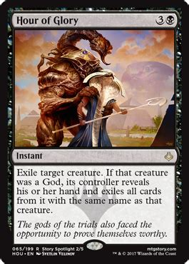 hour of glory from hour of devastation spoiler