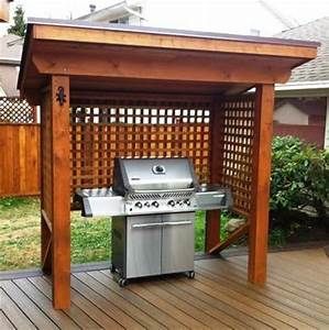 35, Amazing, Small, Covered, Outdoor, Bbq, Ideas, For, 2019