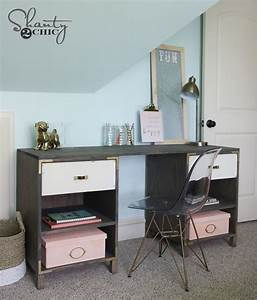 Diy, Cubby, Storage, Desk