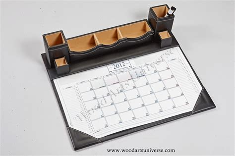 desk calendar pad holders leatherette desk calendar planner wauis417 wood arts