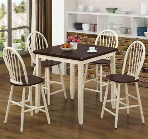 cherry wood pub table set hollis buttermilk and cherry wood pub table set steal a