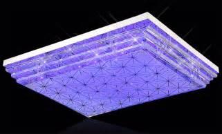 led multi color ceiling light modern home fixture