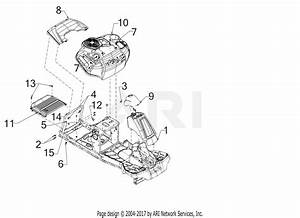 Troy Bilt Tb30  13a726jd066   2017  Parts Diagram For Fender