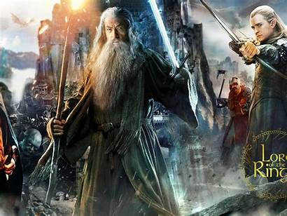 Legolas Lord Rings Gandalf Frodo Wallpapers Aragorn