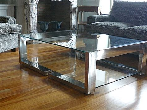 table basse contemporaine table basse contemporaine en verre