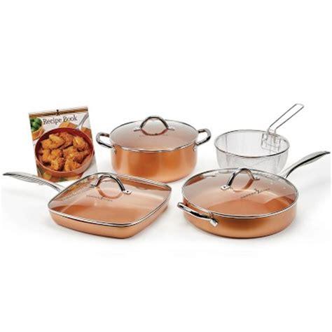 copper chef professional ceramic nonstick cookware set williams sonoma
