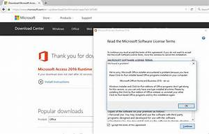 Microsoft access 2017 runtime update : stabrenca