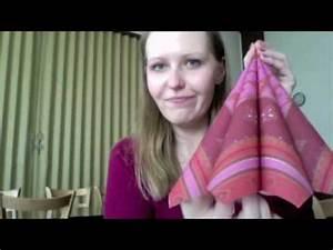 Youtube Servietten Falten : servietten falten 4 ganz einfache falttechniken youtube ~ Frokenaadalensverden.com Haus und Dekorationen