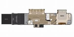 2016 Cyclone Toy Hauler Floor Plans