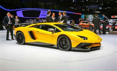 Modifikasi Mclaren 720s Spider by 2017 Lamborghini Aventador Yellow