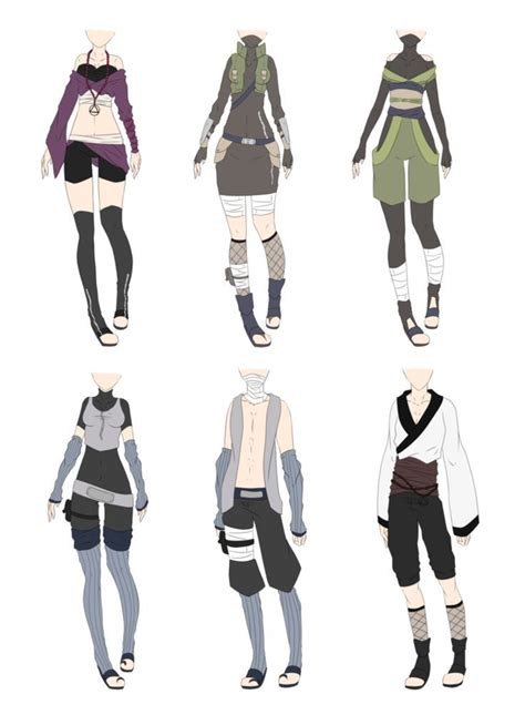 26 best Naruto OC outfit images on Pinterest | Naruto oc Anime outfits and Anime oc