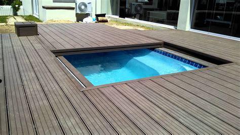 wooden pool deck inground pool deck which to choose backyard design ideas