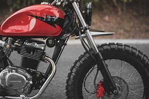 Honda Tmx 155 Brat Tracker By Revolt Cycles  U2013 Bikebound