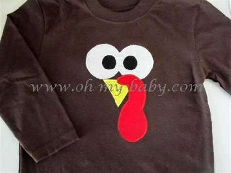 Tshirt Template For Turkey by Personalized Thanksgiving Shirt Turkey Face