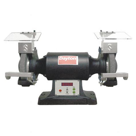 dayton bench grinder dayton 8 quot bench grinder 120v 1 1 2 hp 1800 3450 3600