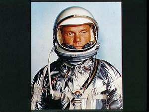 John Glenn - Space Suit Photo