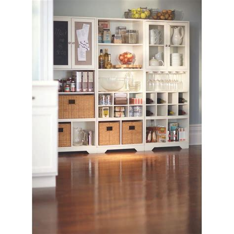 Home Decorators Collection Baxter White Storage Furniture