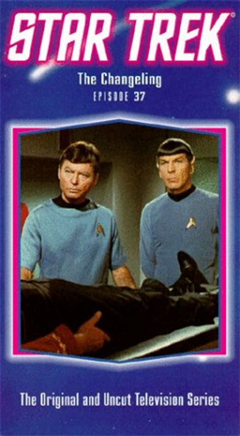 star trek  changeling tv episode