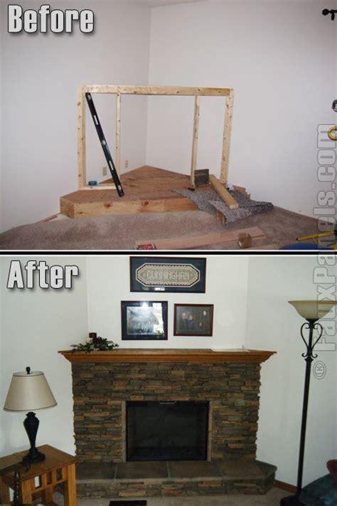25 best ideas about corner fireplace mantels on