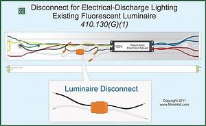 Nec Rules For Installing Lighting On Circuits Greater Than