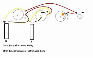 Series Jazz Bass Wiring Diagram With Tonestyler And Star