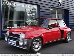 Renault 5 Turbo 2 A Restaurer : v hicules d 39 occasions renault en alsace achat et vente de v hicules d 39 occasions renault ~ Gottalentnigeria.com Avis de Voitures