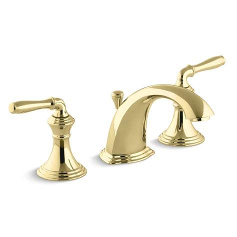 Two Tone Widespread Bathroom Faucets