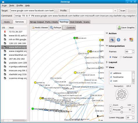 nmap network mapper hacking tools
