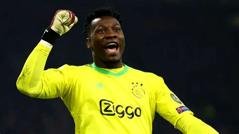 Barcelona procurou Onana, goleiro do Ajax, confirma ...