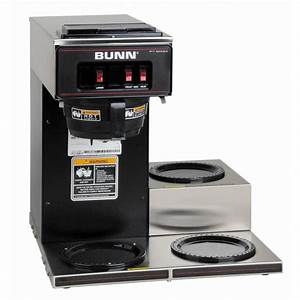 Bunn Vp17 Low Profile 192 Oz  Commercial Coffee Brewer