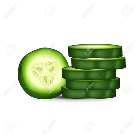 cucumber slice clipart cucumber slice clip 73