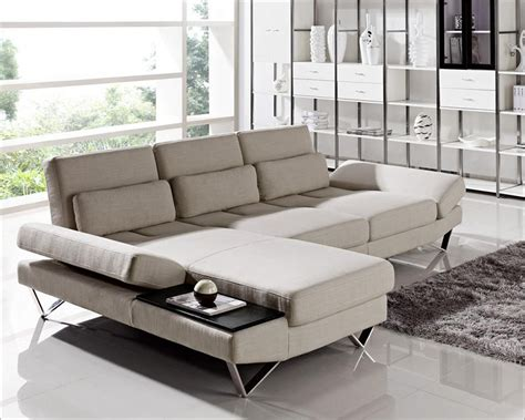 fabric sofa set contemporary sectional sofa set in fabric 44l6056 Modern
