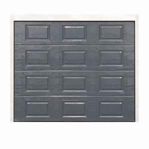 Porte de garage sectionnelle paris k7 240 x h200 cm for Porte de garage sectionnelle paris k7