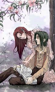 Severus and Lily   Snape and lily, Harry potter anime ...