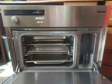 Meile Steam Oven Miele Steamer Question About Plumbed
