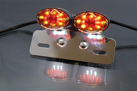 custom led turn signal lights for motorcycles custom fit motorcycle led turn signals brake tail light