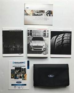 2014 Ford Fusion Full Owner U0026 39 S Manual User Guide  Great