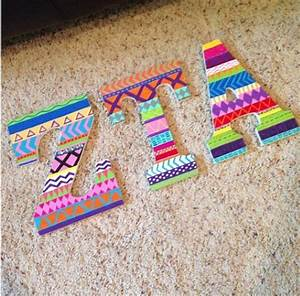 161 best images about sorority decorated letters on With decorated greek letters