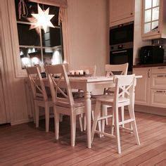 white ikea extension table ingatorp   Ingo   Pinterest