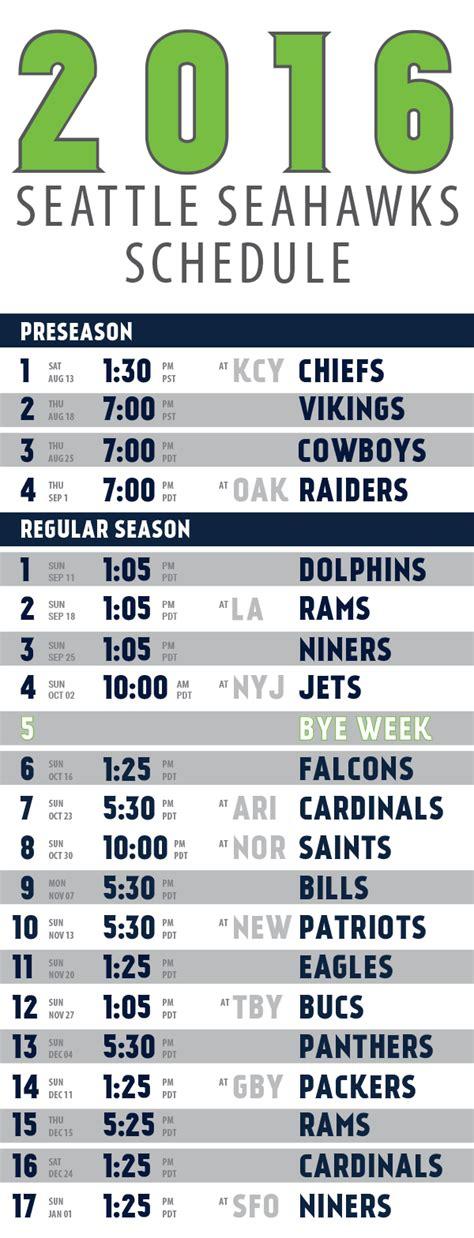 seahawks schedule doot