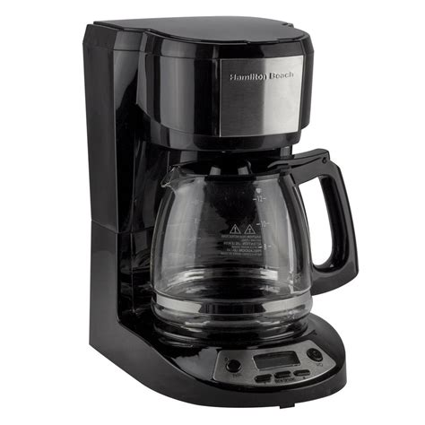 I use both the carafe and the single serve side frequently and they're both. Hamilton Beach 12 Cup Electric Coffee Maker #R1004 - Alalik