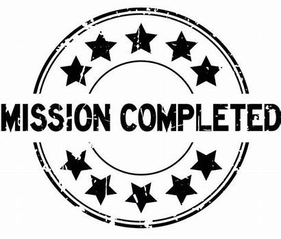 Mission Completed Icon Stamp Seal Complete Round
