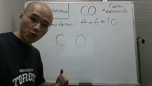 The Lewis Dot Structure For Carbon Monoxide