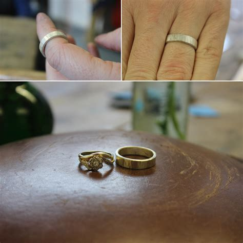 how to make your own wedding rings with the quarter workshop love my 174 uk wedding blog